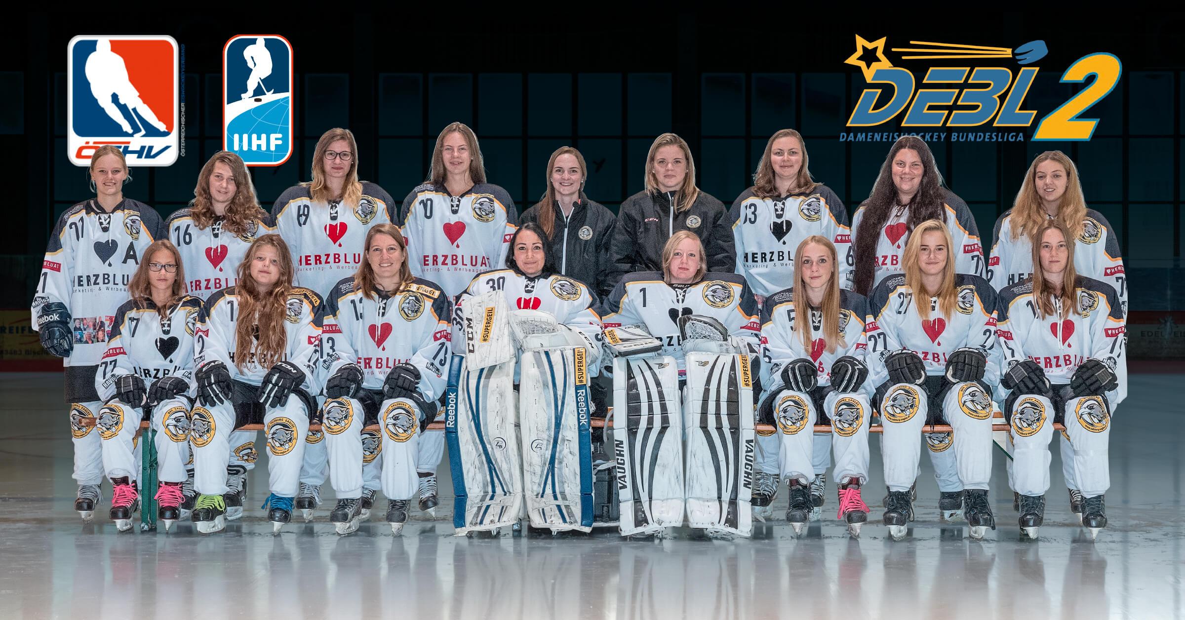 Eishockey Salzburg Eagles Damen Ice Hockey Austria B-Team