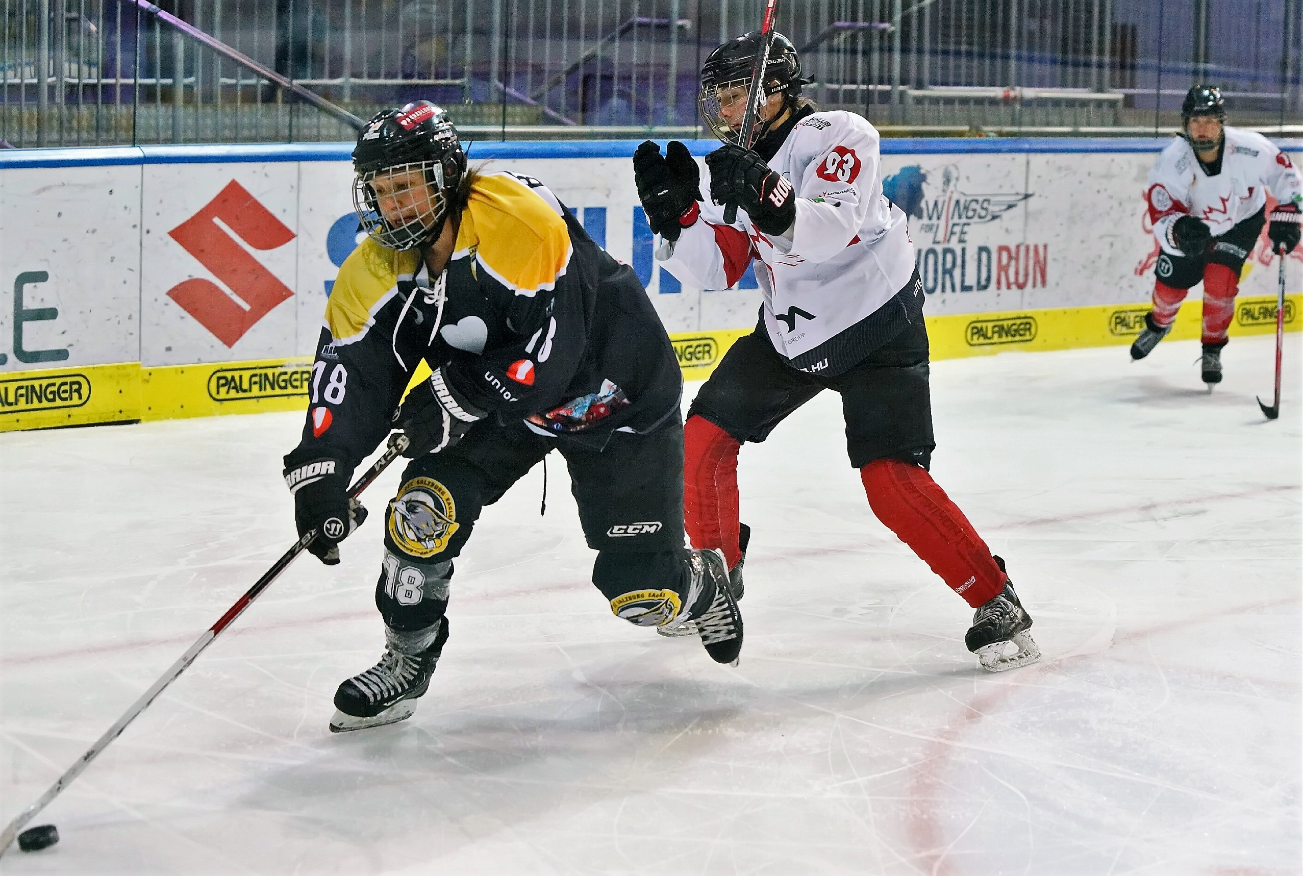 Damen Eishockey Club Salzburg Eagles
